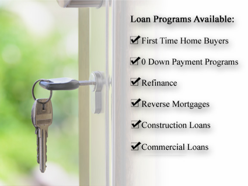 Loan Programs Available